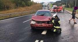 Zderzenie dwóch aut w Kaczorowie