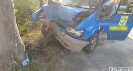 Wypadek w Karpnikach. Jedna osoba w szpitalu