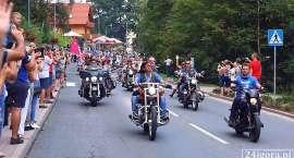 XI Polish Bike Week w Karpaczu. 10 tysięcy motocykli przejechało ulicami miasta.