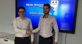 Absolwent II LO im. C.K. Norwida nowym Przewodniczącym Młodych .Nowoczesnych