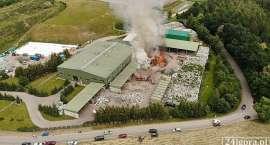 Prokuratura bada sprawę pożaru w wysypiska w Kostrzycy