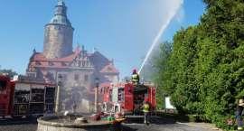 Napad terrorystyczny i pożar w Zamku Czocha