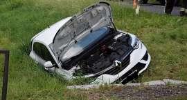 86.letni kierowca spowodował kolizję