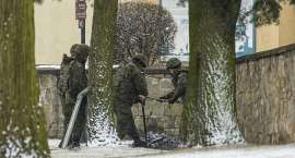 Patrol Rozminowania znów w Krzeszowie