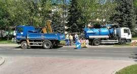 Mieszkańcy bez wody. Awaria wodociągu na Kiepury.