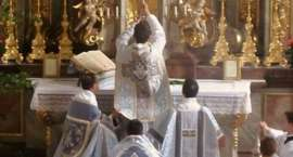 Zaproszenie na śpiewaną Mszę Trydencką