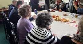Z seniorami debatowali o bezpieczeństwie