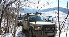 Zlot Land Roverów Overland