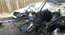 Wypadek na drodze Jelenia Góra - Gryfów