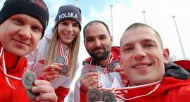 Kolejne medale naszych saneczkarzy