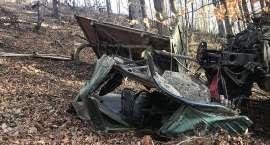 Wypadek w lesie pod Wojcieszowem