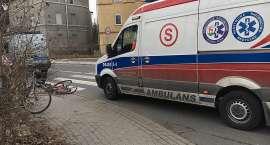 Kobieta potrącona na przejściu dla pieszych