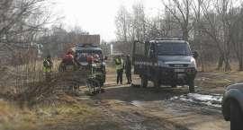 Zdetonowano pocisk moździerzowy przy ul. Ogińskiego (VIDEO)