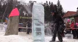 Mistrzostwa Polski w Rzeźbie ze Śniegu (VIDEO)