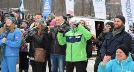 Strefa Kibica w Karpaczu. Tłum fanów dopingował skoczków