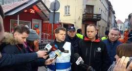 Podsumowanie akcji ratunkowej po zawaleniu kamienicy w Mirsku