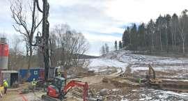 Budowa obwodnicy Maciejowej przebiega w dobrym tempie