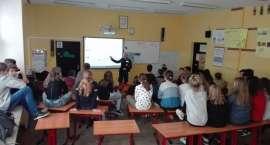 Drugstop w Szkole Podstawowej nr 11 w Jeleniej Górze.