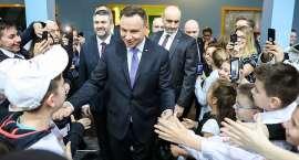 Prezydent Andrzej Duda w Złotoryi (VIDEO)