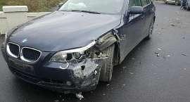 Zderzenie dwóch aut w Łomnicy