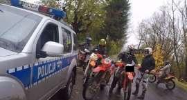 Policjanci zatrzymali grupę motocyklistów