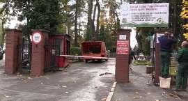 Ograniczenia ruchu na cmentarzach komunalnych