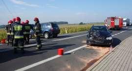 Pisarzowice: Zderzenie trzech aut
