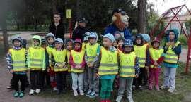 Policjanci z przedszkolakami rozmawiali o bezpieczeństwie w ramach IV edycji