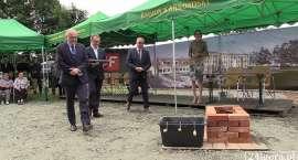 Uroczyste rozpoczęcie budowy nowej szkoły w Podgórzynie