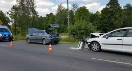 Trzy osoby poszkodowane w wypadku w Miłkowie