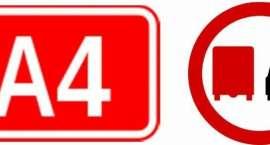 Ograniczenia dla samochodów ciężarowych na A4!