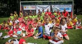 Piłkarski Dzień Dziecka w Parku Norweskim