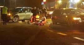 Potrącona na przejściu w ciężkim stanie trafiła do szpitala
