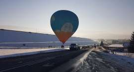 Awaryjne lądowanie balonu w Sosnówce