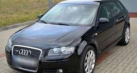 Skradziono Audi A3 Sportback!