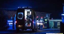 Tragedia w Łomnicy. Mężczyzna zginął w pożarze.