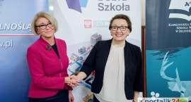 Minister Anna Zalewska w KPSW w Jeleniej Górze