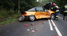 Pięć rozbitych aut w dwie godziny