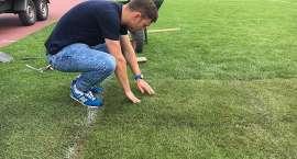 Trwają prace na stadionie przy Złotniczej