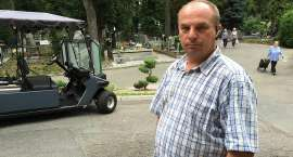 Pracownik MPGK zatrzymał cmentarną hienę