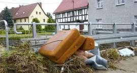 Intensywne opady wyrządziły straty w pobliskich miejscowościach