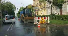 Awaria sieci wodociągowej na Al. Wojska Polskiego