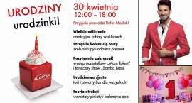 Galeria Sudecka : Urodzinowa fiesta z Rafałem Maślakiem