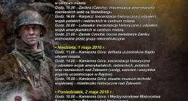 RAJD ARADO 2016 - plan godzinowy pokazów i inscenizacji