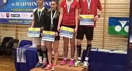 4 medale badmintonistów na Grand Prix Polski