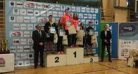 Dwa złote medale Łukasza CIMOSZ na Grand Prix Polski w badmintonie