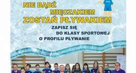 Nabór do klasy IV sportowej o profilu pływanie.