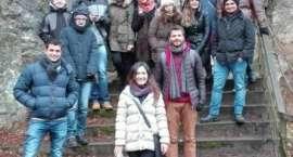Integracyjny spacer studentów KPSW