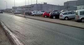 Nieprawidłowe parkowanie na Spółdzielczej