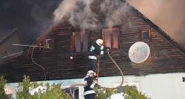 Pożar domu w Szklarskiej Porębie